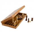 Набор 3 в 1 (шашки, шахматы, нарды) дерево 40*40 см, 7913