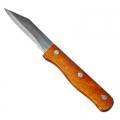 Нож кухонный 9см деревянная ручка SP12B-9