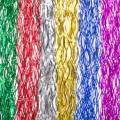 Дождик 15х100см 0,3см ПВХ, волнистый, 6 цветов , MY185