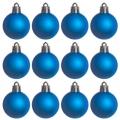 Набор шаров 12шт, 4см, пластик, в пакете, синий, N2/4012 -B06A06