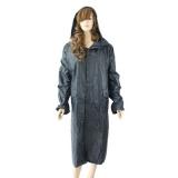 Дождевик-плащ Гром прорезиненный, полиэстер, xxl, плотный, с карманами, 2 цвета