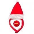Ободок Сноу Бум маскарадный Колпак новогодний, мигающий нос HT-2051A