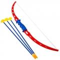 Стрельба из лука (70см)+ 3 стрелы на присосках, арт.00562