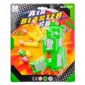 Бластер 17см, 3 мягких патрона, 3 шарика, пластик, 20,5х25х3,5см, 2 дизайна, YJ-6985/6986