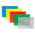 Папка-конверт на кнопке А5 180мкм Berlingo