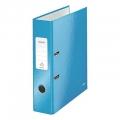 Папка-регистратор Leitz 80мм голубая глянцевая