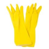 Перчатки латексные Grifon Velvet с хлопковым напылением, Ромашка и VE р-р L, 303-112