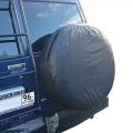 Чехол запасного колеса экокожа R15-17 черный
