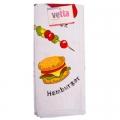 Полотенце с рисунком Гамбургер 40*60см 100% хлопок