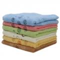 Полотенце махровое, 100% хлопок, 95х45см, 6 цветов, арт.ALV-14