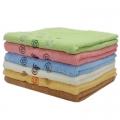 Полотенце банное махровое, 100% хлопок 65х135см 6цветов ALV-13