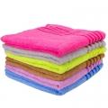 Полотенце банное махровое, 100% хлопок 65х135см 6цветов ALV-17