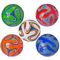 Мяч футбольный синтетическая кожа размер 2 Бразука 5 цветов арт.MФ2-02