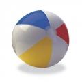 Мяч пляжный 61см Разноцветные дольки 59030