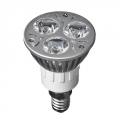 Лампа светодиодная Forza высокомощная, цоколь Е14, 3 Вт Led, 3Вт, 3500K, 220Вт, ресурс 30 000 ч.