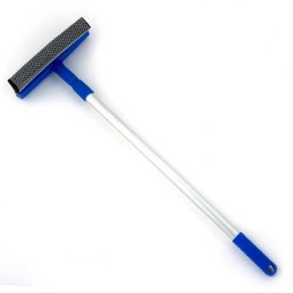 Окномойка с телескопической ручкой 110см синяя KFC004