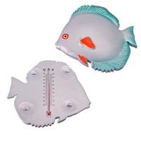 Термометр оконный Рыбка 19,8x18,2x3,5см, для крепления на стекло