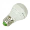 Лампа Led 2700К тёплый солнечный свет, E27, пластиковый корпус, 3W, 220V