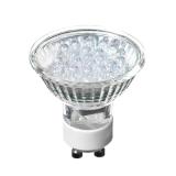 Лампа светодиодная Forza цоколь GU10, 21Led, 1-1.5Вт, син. свеч. 220Вт, ресурс 30000 ч.
