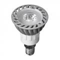 Лампа светодиодная высокомощная, цоколь Е14, 1Led, 1Вт, 3500K, 220Вт, ресурс 30 000 ч.