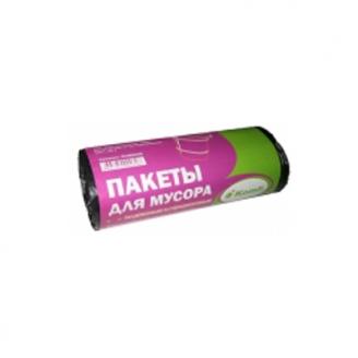 Мешки мусорные ПНД 60л повыш.прочн. в рулонах Komfi/30шт х 50упак