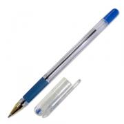 Ручка шариковая MC Gold чернила на масл. осн. 0,5мм, с резиновым упором, синяя