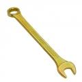 Ключ рожково-накидной 22мм (желтый цинк)