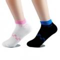Носки женские Спорт, 78% хлопок, 20% нейлон, 2% спандекс, р-р 23-25, 2 цвета