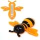 Термометр оконный Пчелка 23*20см, для крепления на стекло