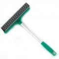 Окномойка со стальной ручкой 25см зеленая KFC002