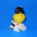 Свеча Сноу Бум Снегирь, красн/желт, 9см, FL29, FL30