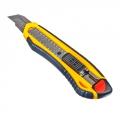 Нож пластиковый усиленный с сегментированным лезвием 18мм