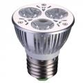 Лампа светодиодная высокомощная, цоколь Е27, 3 Вт Led, 3Вт, 3500K, 220Вт, ресурс 30 000 ч.