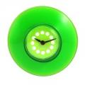 Часы для ванной, d8,4см, зеленые