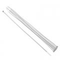 Хомут нейлоновый для стяжки 3,6х300мм, белый 100шт/уп