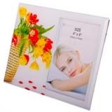 Фоторамка стекло, 10x15см, Букет цветов, 4 дизайна