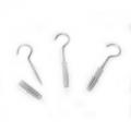 Шуруп-крюк 5x50мм с дюбелем 8 (3 шт), 103813