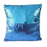 Наволочка на подушку, текстиль, пайетки, 43х43см, 4 цвета, Венесуэла