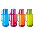 Термос стеклянная колба Tourist 1,80л (2 чашки), 4 цвета 4644H/4