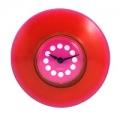 Часы для ванной, d8,4см, красные