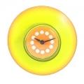 Часы для ванной, d8,4см, желтые