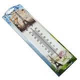 Термометр комнатный Пейзажи мдф, блистер (4 расцветки в ассортименте) 27х7см