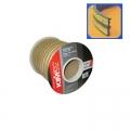 Уплотнитель Е-профиль(резин) на кл/осн бел. 150м/6