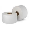 Бумага туалетная для диспенсеров 400м светло-серая втулка 60мм