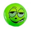 Мяч световой Эмоции резина, d5,5см, микс