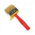 Кисть мини-макловица пластиковая ручка натуральная щетина 30*70