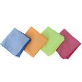 Набор салфеток из микрофибры 2шт с сеткой, 30х30см, 4 цвета