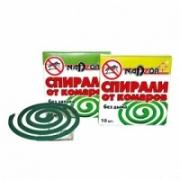 Спирали от комаров бездымные по 10 шт Nadzor/60 уп
