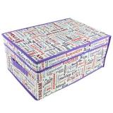 Кофр-короб для хранения спанбонд влагостойкий, 30x45x20см, большой