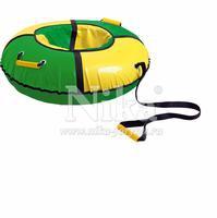 Тюбинг Nika ТБ1К 850 зелёный с желтым